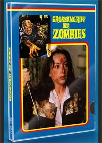 Grossangriff der Zombies (Limited Glasbox, Blu-ray+DVD) (1980) [FSK 18] [Blu-ray]
