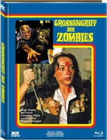 Grossangriff der Zombies (Limited Mediabook, Blu-ray+DVD, Cover A) (1980) [FSK 18] [Blu-ray]