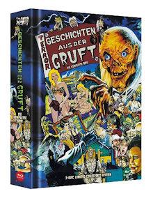 Geschichten aus der Gruft - Die komplette Serie (7 Disc Limited Mediabook, Cover C) [FSK 18] [Blu-ray]