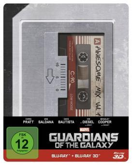 Guardians of the Galaxy (3D Blu-ray+Blu-ray, Steelbook) (2014) [3D Blu-ray]