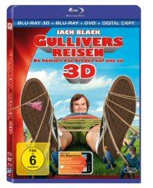 Gullivers Reisen (Blu-ray + DVD & Digital Copy) (2010) [3D Blu-ray]