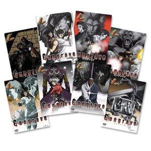 Gungrave Vol. 01-08 (8 DVDs, Komplettset)