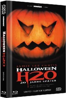 Halloween: H20 (Limited Mediabook, Blu-ray+DVD) (Cover A) (1998) [FSK 18] [Blu-ray]