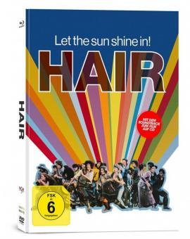 Hair (3 Disc Limited Mediabook, Blu-ray+DVD+CD) (1979) [Blu-ray]