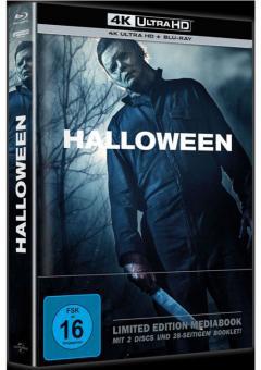 Halloween (Limited Mediabook, 4K Ultra HD+Blu-ray) (2018) [4K Ultra HD]