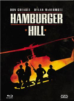 Hamburger Hill (Limited Mediabook, Blu-ray+DVD, Cover A) (1987) [Blu-ray]