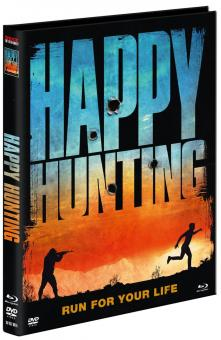Happy Hunting (Limited Mediabook, Blu-ray+DVD, Cover A) (2016) [FSK 18] [Blu-ray]