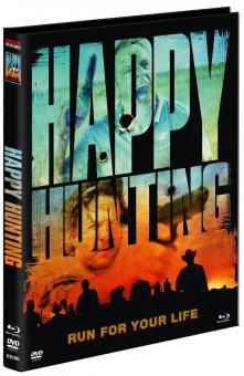Happy Hunting (Limited Mediabook, Blu-ray+DVD, Cover B) (2016) [FSK 18] [Blu-ray]