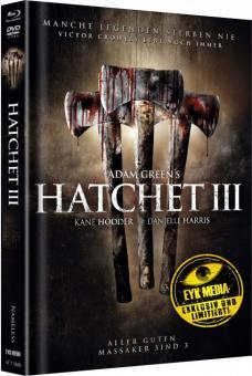 Hatchet III (Limited Mediabook, Blu-ray+DVD, Cover B) (2013) [FSK 18] [Blu-ray]