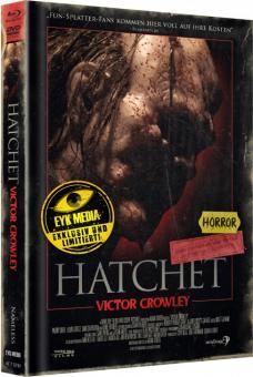 Hatchet 4 - Victor Crowley (Limited Mediabook, Blu-ray+DVD, Cover C) (2017) [FSK 18] [Blu-ray]