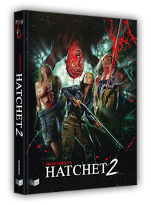 Hatchet 2 (Limited Mediabook, Blu-ray+DVD, Cover A) (2010) [FSK 18] [Blu-ray]