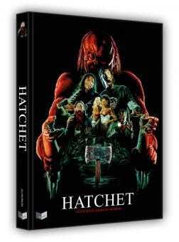 Hatchet (Limited Mediabook, Blu-ray+2 DVDs, Cover A) (2006) [FSK 18] [Blu-ray]