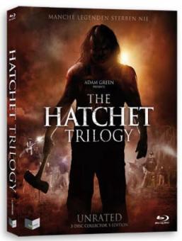 Hatchet Trilogy (Uncut 3 Disc Edition im Schuber) [FSK 18] [Blu-ray]