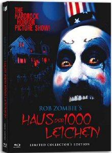 Haus der 1000 Leichen (Limited Uncut Mediabook, Blu-ray+DVD, Cover A) (2002) [FSK 18] [Blu-ray]