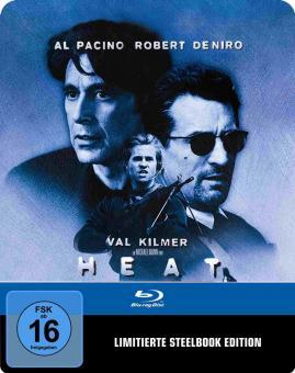 Heat (Limited Steelbook) (1995) [Blu-ray]
