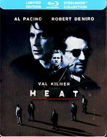 Heat (Limited Steelbook) (1995) [CA Import mit dt. Ton] [Blu-ray]
