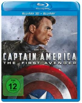 Captain America (3D Blu-ray+Blu-ray) (2011) [3D Blu-ray]