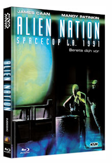 Alien Nation - Spacecop L.A. 1991 (Limited Mediabook, Blu-ray+DVD, Cover C) (1988) [Blu-ray]