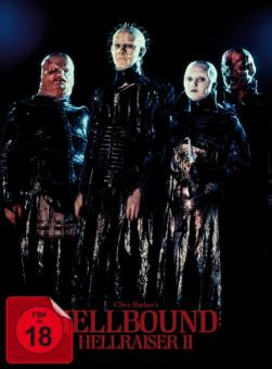 Hellraiser 2 - Hellbound (Limited Mediabook, Blu-ray+DVD, Cover A) (1988) [FSK 18] [Blu-ray]