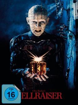 Hellraiser - Das Tor zur Hölle (Limited Uncut Mediabook, Blu-ray+DVD, Cover A) (1987) [Blu-ray]