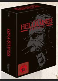 Hellraiser 1-3 (Limited Black Box Edition, 4 Mediabooks + Buch, 8 Discs) (Uncut) [FSK 18] [Blu-ray]