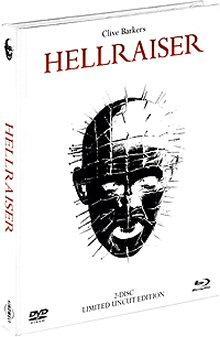 Hellraiser - Das Tor zur Hölle (2 Disc Limited Mediabook, Blu-ray + DVD) (White Edition) (1987) [FSK 18] [Blu-ray]