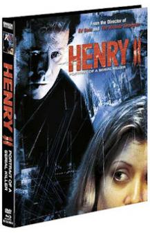 Henry 2 - Portrait of a Serial Killer (Limited Mediabook, Blu-ray+DVD, Cover A) (1996) [FSK 18] [Blu-ray]