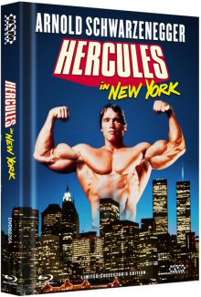 Herkules in New York (Limited Mediabook, Blu-ray+DVD, Cover A) (1970) [Blu-ray]