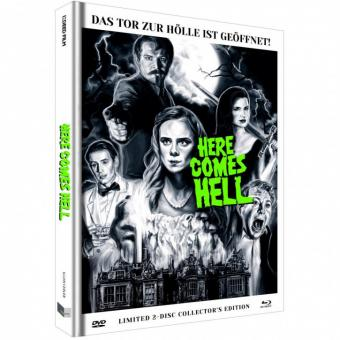 Here comes Hell (Limited Mediabook, Blu-ray+DVD, Cover B) (2019) [FSK 18] [Blu-ray]