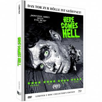 Here comes Hell (Limited Mediabook, Blu-ray+DVD, Cover C) (2019) [FSK 18] [Blu-ray]