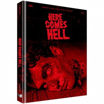 Here comes Hell (Limited Mediabook, Blu-ray+DVD, Cover E) (2019) [FSK 18] [Blu-ray]