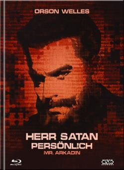 Herr Satan persönlich (Mr. Arkadin) (Limited Mediabook, Blu-ray+DVD, Cover A) (1955) [Blu-ray]