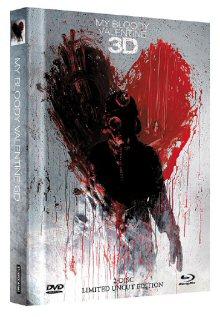 My Bloody Valentine (Limited Uncut Mediabook, Blu-ray+DVD, Cover C) (2009) [FSK 18] [3D Blu-ray]