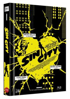 Sin City (Limited Mediabook, 2 Discs, Cover D) (2005) [FSK 18] [Blu-ray]