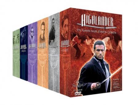 Highlander - Staffel 1-6 Komplett-Package (45 DVDs)