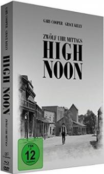 12 Uhr mittags - High Noon (Limited Mediabook, Blu-ray+DVD) (1952) [Blu-ray]