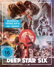 Deep Star Six (Limited Mediabook, Blu-ray+DVD, Cover B) (1989) [Blu-ray]