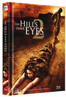 The Hills have Eyes 2 (Uncut Limited Mediabook, Blu-ray+DVD, Cover B) (2007) [FSK 18] [Blu-ray]
