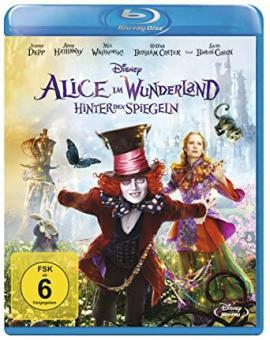 Alice im Wunderland: Hinter den Spiegeln (2016) [Blu-ray] [Gebraucht - Zustand (Sehr Gut)]