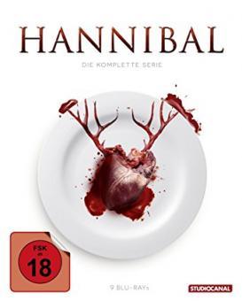 Hannibal - Die komplette Serie (9 Discs) [FSK 18] [Blu-ray]