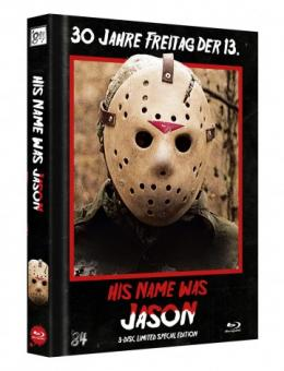 His Name was Jason (Limited Mediabook, Cover B) (2009) [FSK 18] [Blu-ray]