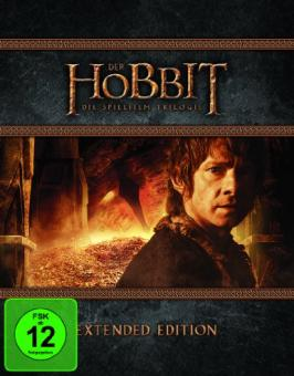Der Hobbit Trilogie - Extended Edition (15 Discs) [Blu-ray]