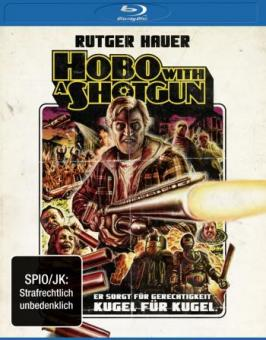 Hobo with a Shotgun (Uncut) (2011) [FSK 18] [Blu-ray]