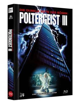 Poltergeist 3 - Die dunkle Seite des Bösen (Limited Mediabook, Blu-ray+DVD, Cover A) (1987) [Blu-ray]