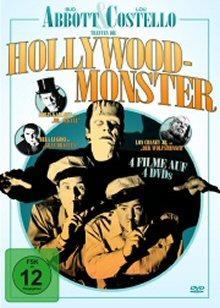 Abbott & Costello treffen die Hollywood-Monster (4 DVDs)