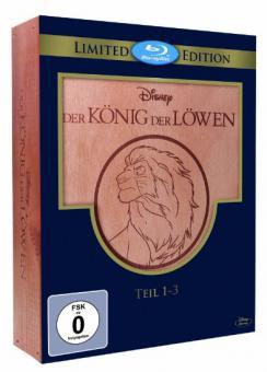 Der König der Löwen - Teil 1-3 (Holzbox) (Limited Edition, 3 Discs) [Blu-ray]
