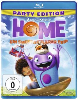 Home - Ein smektakulärer Trip - Party Edition (2015) [Blu-ray]