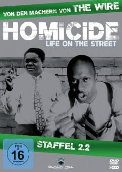 Homicide - Life on the Street, Staffel 2.2 (3 DVDs)