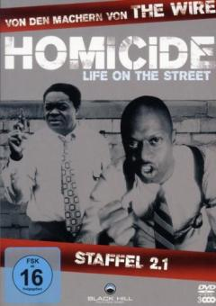Homicide - Life on the Street, Staffel 2.1 (3 DVDs)