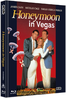 Honeymoon in Vegas (Limited Mediabook, Blu-ray+DVD, Cover A) (1992) [Blu-ray]
